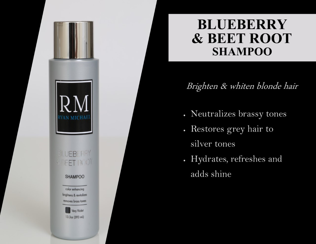 Blueberry & Beet Root Shampoo